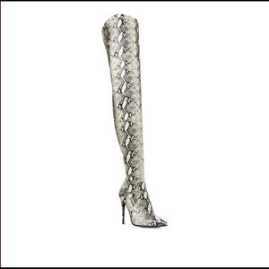 Over the Knee Python Boots